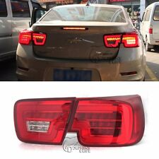 Fit for Chevrolet Malibu 2014 2015 Car Tail Lights Lamp DRL Turn Signals Red