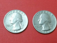 UNITED STATES OF AMERICA,TWO  COINS,LIBERTY IN GODWE TRUST 1967,QUARTER DOLLAR
