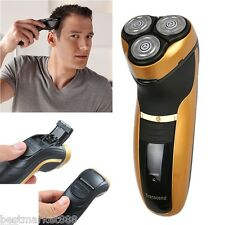 Deluxe Rotary Men's 3D Rechargeable Washable Cordless Electric Shaver Razor Safe