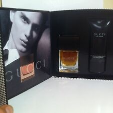 GUCCI POUR HOMME EAU DE TOILETTE 50ML.1.7FL.OZ +50ml gel NEW  FOR MEN VERY RARE