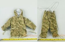Dragon 1/6 WW2 German Grenadier Marsh 44 Camo Reversible Parka Uniform 70652 BC