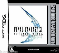 Used DS Final Fantasy XII Revenant Wings Ultimate Hits NINTENDO JAPANESE IMPORT