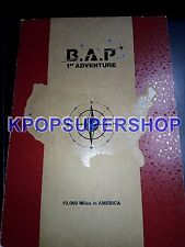 B.A.P 1st Adventure 10,000 Miles In America 2 DVD Photobook BAP Warrior Good