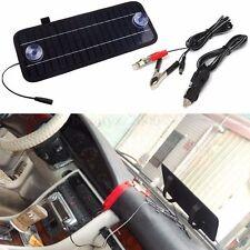 Portátil 12V 4.5W Panel Solar Batería Power Backup Cargador Para Barco Coche