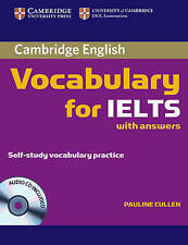 Cambridge VOCABULARY for IELTS with Answers & Audio CD Self-Study Practice   NEW