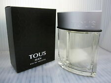 TOUS FOR MEN 0.14 FL oz / 4.5 ML Eau De Toilette Miniature New In Box