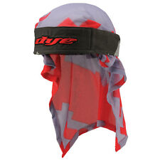 Dye Headwrap Airstrike Grey Red  Bandana Airsoft Paintball PaintNoMore 10423