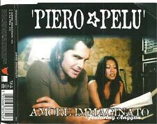 A6 cd single PIERO PELU' ( litfiba ) AMORE IMMAGINATO feat Angunn / A LA VIDA