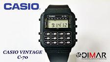 CASIO VINTAGE C-70 CALCULATOR QW.133 JAPAN  AÑO 1980