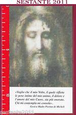 811 SANTINO HOLY CARD GESù CRISTO VOLTO SANTO MADRE PIERINA DE MICHELI