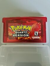 Pokemon Quartz Version (Nintendo Game Boy Advance)