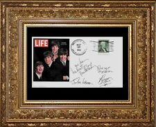 The Beatles Featured on Limited Edition Collector's Envelope *Z404