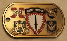 Airborne Special Operations Command Europe Commanders Army Challenge Coin