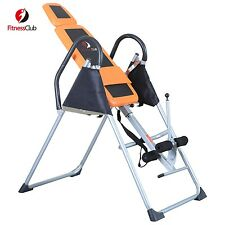 BN Premium Exercise Fitness Inversion Table Foldable Curve Chiropractic Therapy
