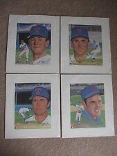 NOLAN RYAN 4 LITHOGRAPH SET BY SUSAN RINI LE 213/1000