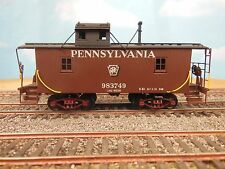 HO SCALE BRASS ALCO PENNSYLVANIA LAKE REGION N-6B WOOD CABOOSE