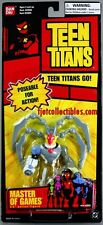Teen Titans Master of Games action figure tall red card MIP Bandai 2004