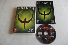 QUAKE 4 APPLE MAC OS 10.3.9/10.4.4 + G4/G5/Intel FPS V.G.C. COMPLETE UNIVERSAL