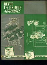 (C13)REVUE TECHNIQUE AUTOMOBILE FORD ANGLIA Perfect et Consul 315