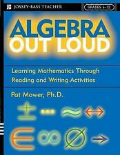 Algebra Out Loud: Learning Mathematics Through Reading and Writing Activities b
