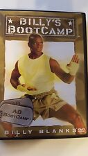 BILLY BLANKS AB BOOT CAMP exercise DVD good health powerful best results rid fat