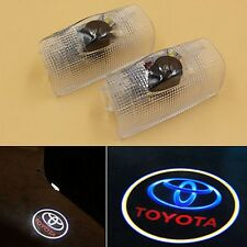 2PS LED Door Step Welcome Courtesy Projector Laser Ghost Shadow Light for Toyota
