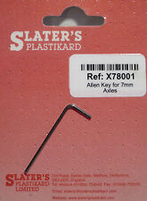 Slaters X78001 - 1.27mm Allen Key for 7mm Dia Slaters Axles - 1st Class Post