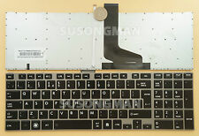 New UK Keyboard For Toshiba Satellite P850 P850D P870 P870D Backlight
