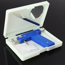 Professional Steel Ear Nose Navel Body Piercing Gun 98pcs Studs Tool Kit Set New