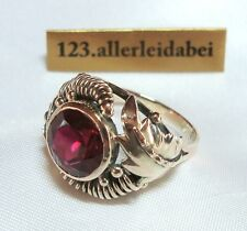 Wundervoller Spinell Ring 333 Rotgold Gold wie Rubin roter Stein  / AQ 370