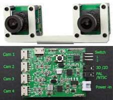 3D Camera and multi view FPV system SUPPO Model for all planes, car and copters