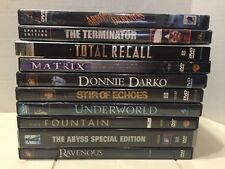 Huge DVD Lot of 10 Awesome Sci-Fi Cult Classic Movies- Army Of Darkness Abyss