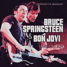BRUCE SPRINGSTEEN & BON JOVI New 2017 UNRELEASED LIVE 1990s CONCERT 2 CD SET
