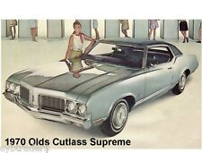 1970 Olds Cutlass Supreme Refrigerator / Tool Box Magnet Man Cave Item