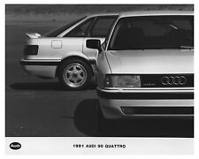 1991 Audi 90 Quattro Automobile Factory Photo ch7524