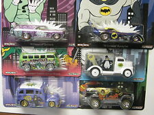 HOT WHEELS POP CULTURE BATMAN-SET OF 6