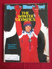 Sports Illustrated February 25, 1980 The Winter Olympics Eric Heiden