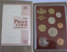 "1988 "" Bicentennial "" 8 Coin Proof Set Includes the First Year of Issue $2 Coin"