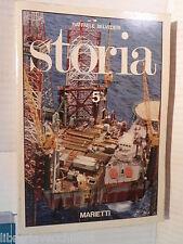 STORIA Vol V Evo contemporaneo Raffaele Belvederi Marietti 1980 scuola libro di