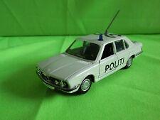 GAMA  1:43  BMW 528i  1149  POLITI  -  RARE  SELTEN  GOOD CONDITION.
