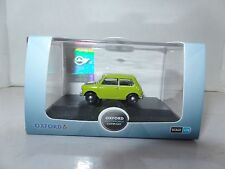 Oxford 76MN005 MN005 1/76 OO Scale Classic BLMC Austin Mini Lime Green Mr Bean