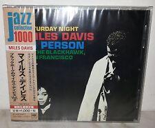 CD MILES DAVIS - IN PERSON SATURDAY NIGHT - SAN FRANCISCO VOL 1  JAPAN SICP 3963