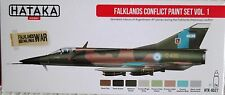 Hataka HTK-AS27 guerre des malouines argentine air force 8 couleurs paint set