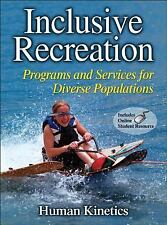 Inclusive Recreation With Web Resource: Programs and Services for Diverse Popula