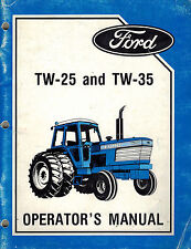 FORD TW-25 TW-35  TRACTORS OPERATOR'S MANUAL