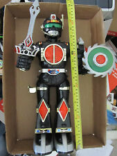 """B/O ROBOT - 17"""" TALKING TOY - 4 AA - SOLD AS IS - STATIC"""