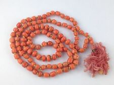 Ancient Antique Natural  Old Coral Beads Necklace , Jewelry 167 Ct( 33.400 Grm)