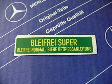 Original Mercedes pegatinas plomo Super para w107 w114 w116 w123 w124 w126