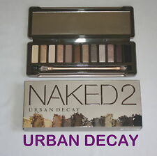 Genuine URBAN DECAY Naked2 Eyeshadow Palette &  Brush NEW