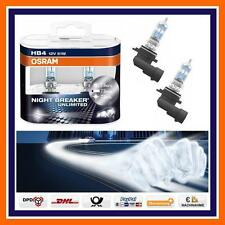 2X OSRAM HB4 Nightbreaker Unlimited +110% NEBELSCHEINWERFER VW Golf V UP Passat